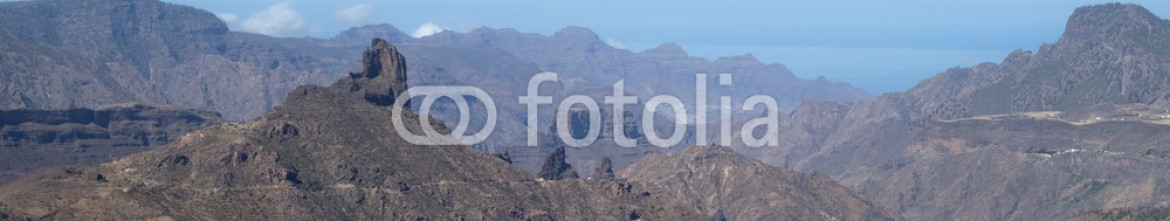 91500475 – Spain – Gran Canaria, Caldera de Tejeda, morning light