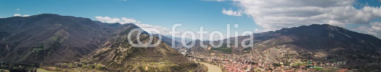 91813099 – Ukraine – Panoramic view of Mtskheta. Georgia.