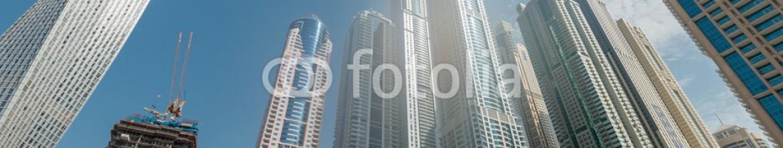 91967047 – Azerbaijan – Dubai – AUGUST 9, 2014: Dubai Marina district on August 9 in UAE