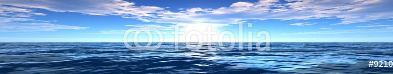 92106549 – Ukraine – panorama of sea sunset