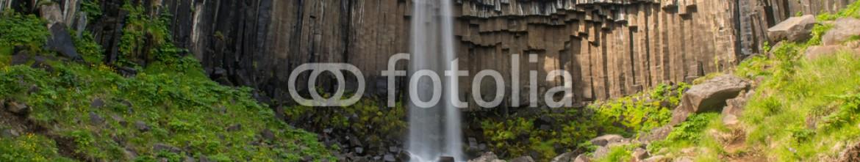 92124324 – Iceland – Svartifoss Waterfall, Skaftafell national park, Iceland