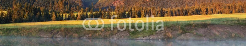 92189798 – Slovakia – Beauty mountain panorama with lake – Slovakia