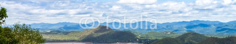 92533823 – Thailand – mountain view at Srinagarind dam