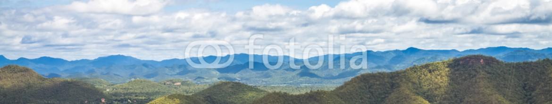 92676613 – Thailand – mountain view at Srinagarind dam