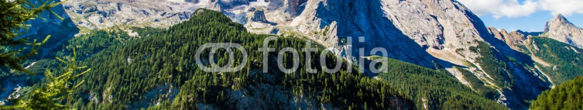92689522 – Italy – View of the massif of the Marmolada, Italy