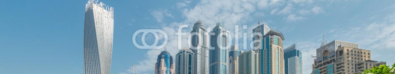 92854669 – Azerbaijan – Dubai – AUGUST 9, 2014: Dubai Marina district on August 9 in UAE