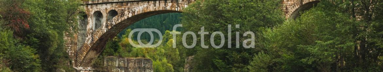 92868671 – Ukraine –  bridge over river