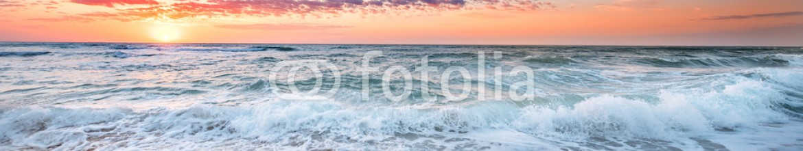93055867 – Bulgaria – Sunrise and atlantic ocean in Dominican republic.