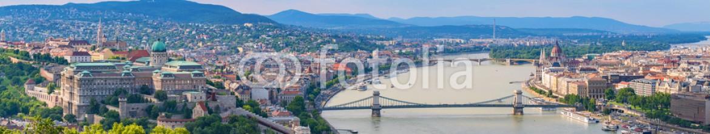 93086247 – Hungary – Budapest city skyline panorama – Budapest – Hungary