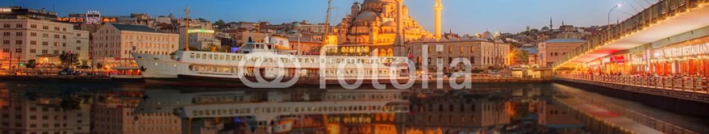 93127428 – Ukraine – Panorama of Istanbul at a dramatic sunset