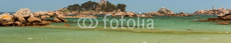 93139274 – France – coastal landscape of Bretagne, northern France