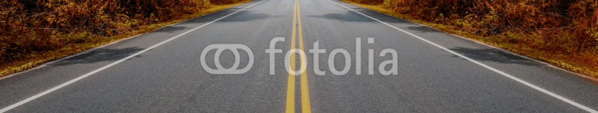 93270153 – Thailand – View from the bottom of a steep hill on the highway.