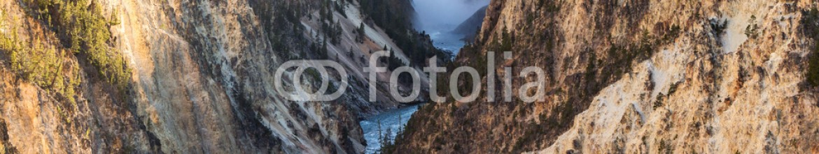 93367208 – United States of America – Lower Falls on the Grand Canyon of the Yellowstone, Yellowstone National Park, USA