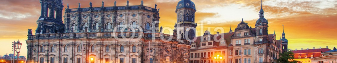 93368706 – Germany – Dresden Hofkirche, theater platz