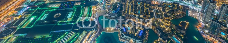 93382276 – Azerbaijan – Panorama of night Dubai during sunset