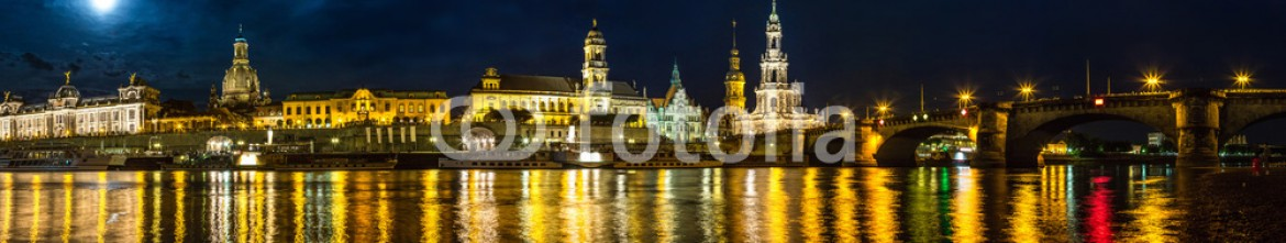 93429843 – Ukraine – Dresden in night
