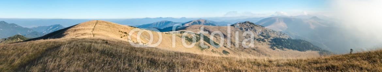 93480871 – Czech Republic – Panorama from morning mountain ridge