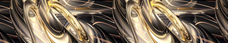 Стеклянные панели Жидкий металл