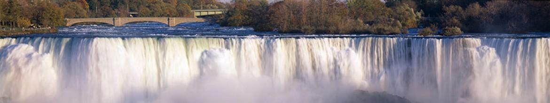 Панель для кухни Шикарный, огромнейший водопад