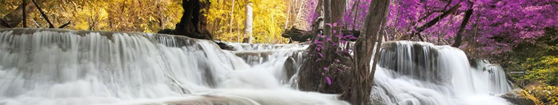 Скинали Водопад в Японии