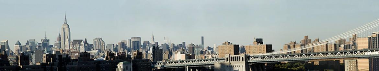 Стеклянные панели Великий город