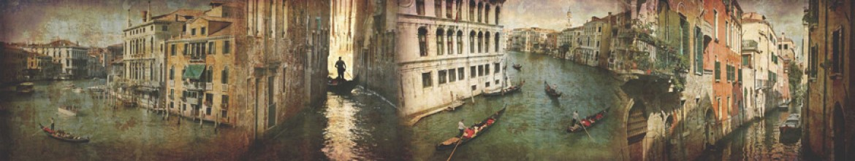 Фартук из стекла Старая Венеция