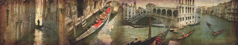 Стеклянные панели Венецианская гондола
