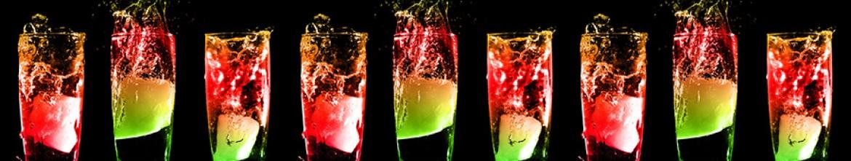 Стеклянные панели для кухни Прохладительные напитки