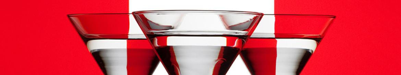 Скинали для кухни Бокалы мартини