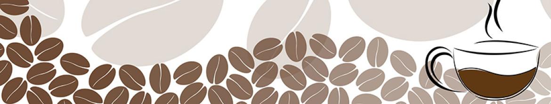 Фартук из стекла Рисунок кофе