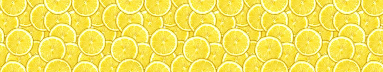 Стеклянные панели Дольки лимона