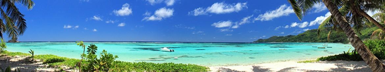 Панель для кухни Остров на багамах