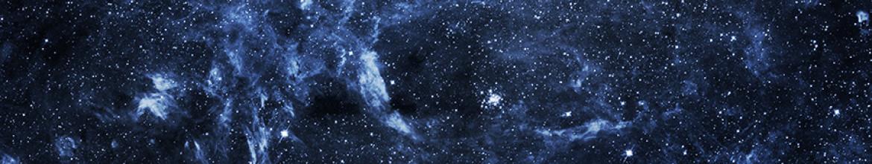 Стеклянный фартук Просторы Вселенной