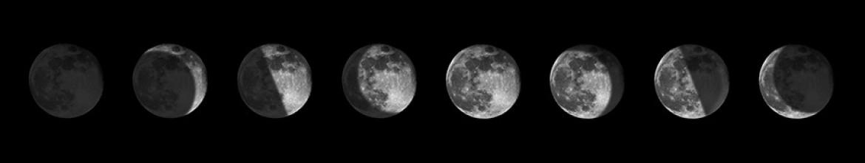 Кухонный фартук Фазы луны