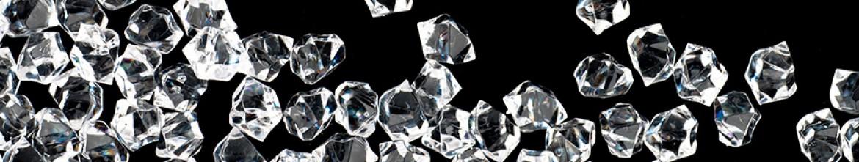 Стеклянный фартук Бриллианты