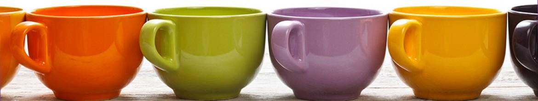 Фартук Разноцветные чашки