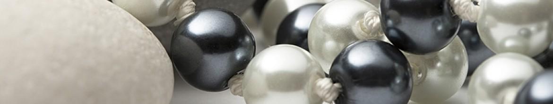 Фартук для кухни Черный и белый жемчуг