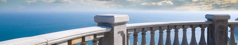 Скинали Красивый вид с балкона